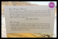 Wedding Timeline Card 2