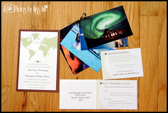 Iceland Wedding Invitations