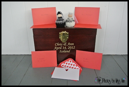 Iceland Wedding Love Letter Ceremony Box