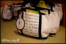 Wedding Welcome Bag Example
