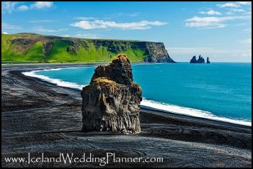 Cape Dyrholaey Vik Beach Iceland Wedding Location