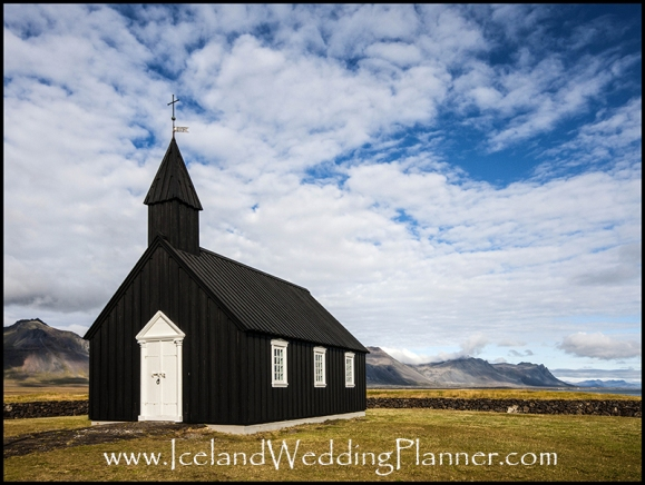 Country Church in Budir Iceland Ceremony Location