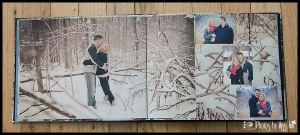 Destination Wedding Engagement  Guest Book