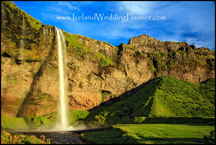 Seljalandsfoss Wedding Photographer and Iceland Wedding Planner