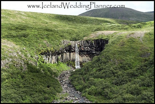 Svartifoss Iceland Wedding Ceremony Locations