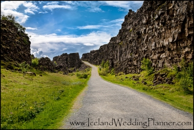 Thingvellir National Park Iceland Wedding Ceremony Location