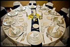 Iceland Wedding Reception Setup Photos by Miss Ann