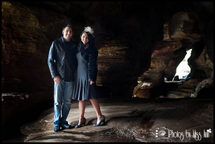 Iceland Inspired Wedding Photos by Photos by Miss Ann