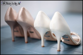 Badgley Mischka Wedding Shoes Seljalandsfoss Wedding Photographer