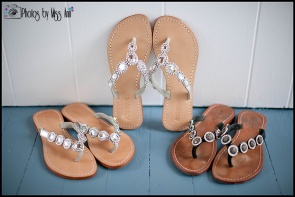 Mystique Rhinestone Wedding Sandals Iceland Wedding Shoes