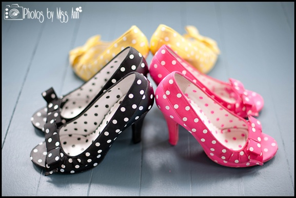 Thicker Heeled Iceland Wedding Shoes Betsey Johnson Polka Dot Heels