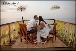 Ayana Resort Wedding Photos Bali Private Jetty Honeymoon Portraits