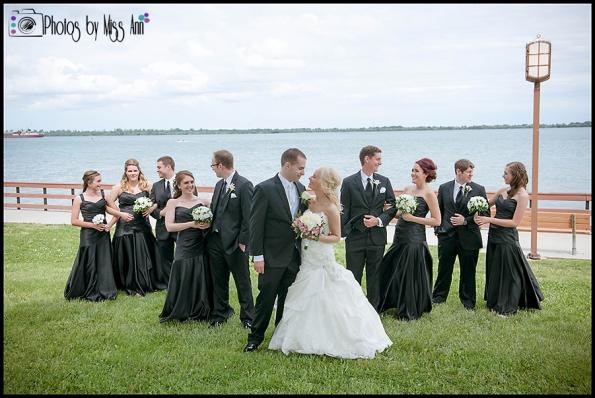 Bishop Park Wyandotte Wedding Photos Michigan Wedding Photographer Photos by Miss Ann-2