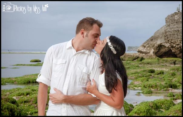 Destination Wedding Photos Bali Wedding Photos by Miss Ann Padang Padang Beach