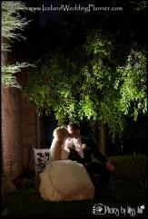 Dreamy Night Wedding Portraits Iceland Wedding Photos by Miss Ann Weddings