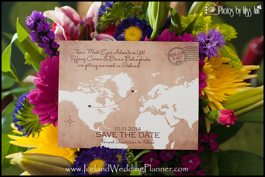 Iceland Wedding Iceland Save the Date Example Iceland Wedding Planner