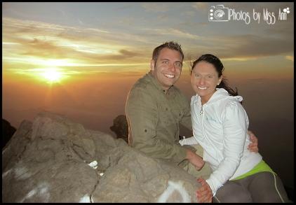Mount Agung Sunrise Hike Honeymoon Photos Bali Photos by Miss Ann