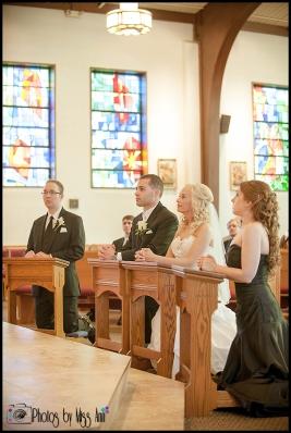 St. Pius X Catholic Church Wedding Southgate Mi Wedding Photographer Photos by Miss Ann-3