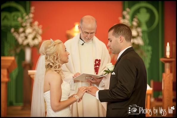 St. Pius X Catholic Church Wedding Southgate Mi Wedding Photographer Photos by Miss Ann-6