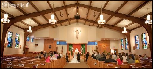 St. Pius X Catholic Church Wedding Southgate Mi Wedding Photographer Photos by Miss Ann-8