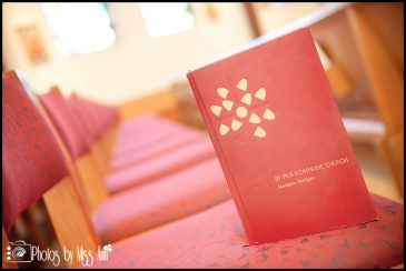 St. Pius X Catholic Church Wedding Southgate Mi Wedding Photographer Photos by Miss Ann-9