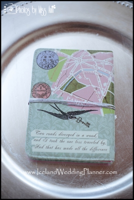 Wedding Favors for Iceland Destination Wedding Photos by Miss Ann Iceland Wedding Photographer
