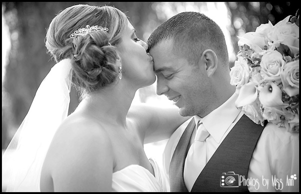 Bride Kissing the Groom on Wedding Day Iceland Wedding Planner Photos by Miss Ann
