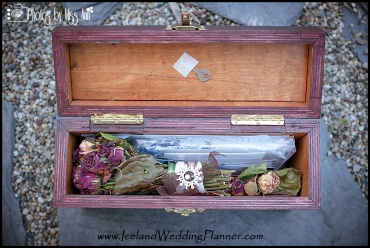 Iceland Love Letter Ceremony Box Example Photos by Miss Ann Iceland Wedding Planner