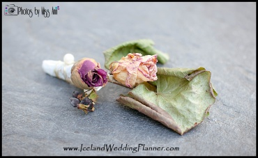Iceland Wedding Groom's Boutonniere Preserving Your Wedding Destination Wedding Flowers