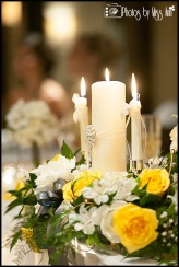 Unity Candle as Head Table Decor Iceland Wedding Planner