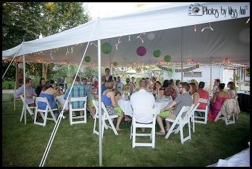 Canton Canopy 20x30 Tent for 30th Birthday