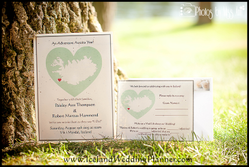 Destination Wedding Map Invitation Iceland Map Wedding Invite Wedding at Vik Beach Iceland