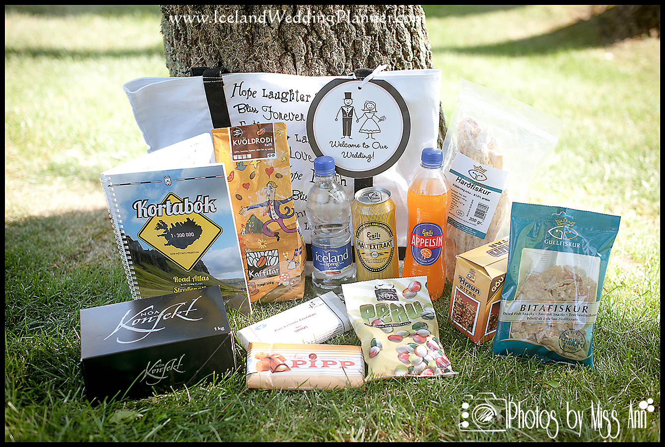 The Importance Of Welcome Bags For Iceland Weddings Iceland Wedding Planner And Photographer