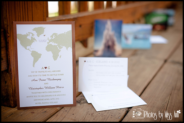Iceland Destination Wedding Invitation Seljalandsfoss Waterfall Wedding Iceland