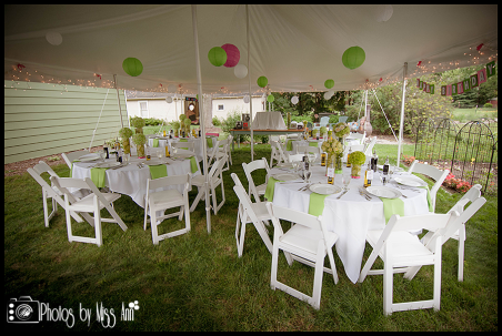 Iceland Wedding Planner Pole Tent Decorating with Paper Lanterns