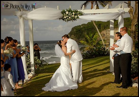 St Lucia Destination Wedding Best Destination Wedding Photographer Photos by Miss Ann