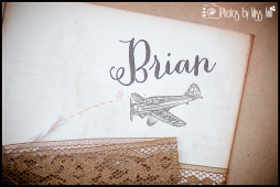 Vintage Plane Destination Wedding Invitation Photos by Miss Ann