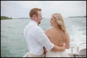 Dreamy Michigan Wedding Photos Infinity Yacht Wedding Photos by Miss Ann
