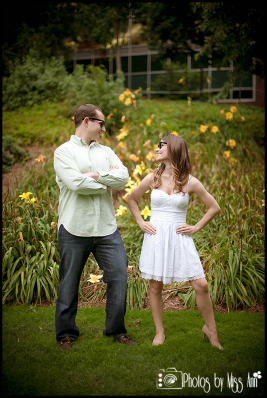 Engagement Session MI State University Campus Photos by Miss Ann Michigan and Iceland Wedding Photographer