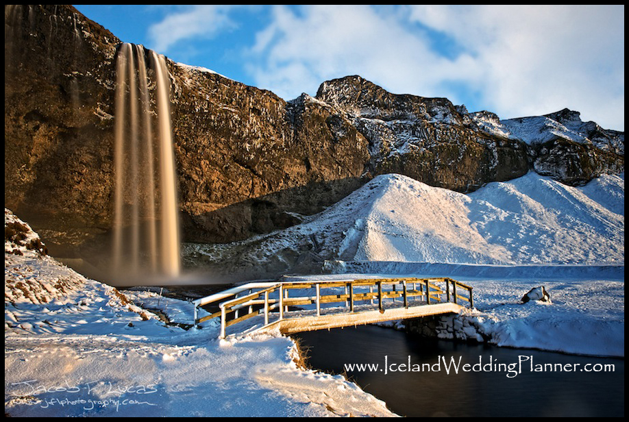 Iceland Wedding Location Seljalandsfoss Waterfall