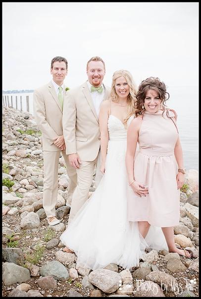 Infinity Yacht Wedding Jefferson Beach Marina Bridal Party Photos Dessy Bridesmaid Dress