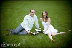Michigan State Arb Engagement Session Photos