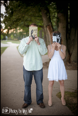 Michigan State University Engagement Session Photos by Miss Ann