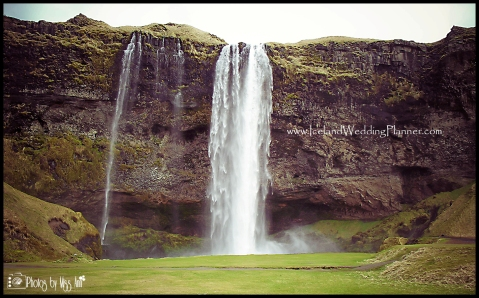 Seljalandsfoss Wedding Photos Iceland Wedding Photographer Photos by Miss Ann