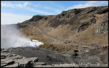 Gullfoss Waterfall Hike Iceland Ceremony Location Photos by Miss Ann