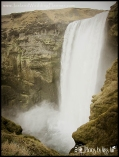 Iceland Destination Wedding the Top of Skogafoss Waterfall