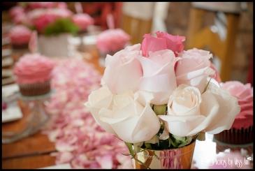 Gold Mint Julep Pink Wedding Centerpiece Iceland Wedding Planner