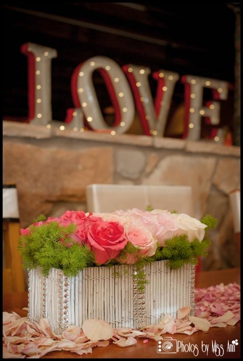Iceland Florist Iceland Centerpiece Ideas Rose Ombre Box