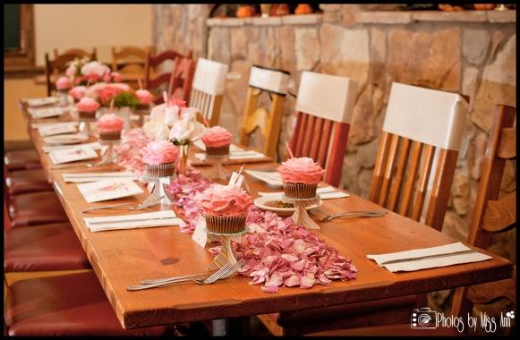 Iceland Wedding Reception Setup Ideas Rose Petal Table Runner Iceland Wedding Photographer Photos by Miss Ann
