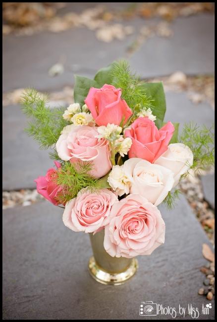 Mint Julep Pink Wedding Centerpiece Iceland Wedding Planner